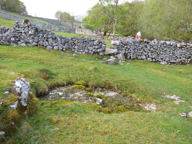 "Spring below Kettlewell ""New"" Bridge"