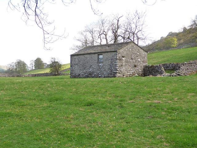 Laithe in a field near Kettlewell