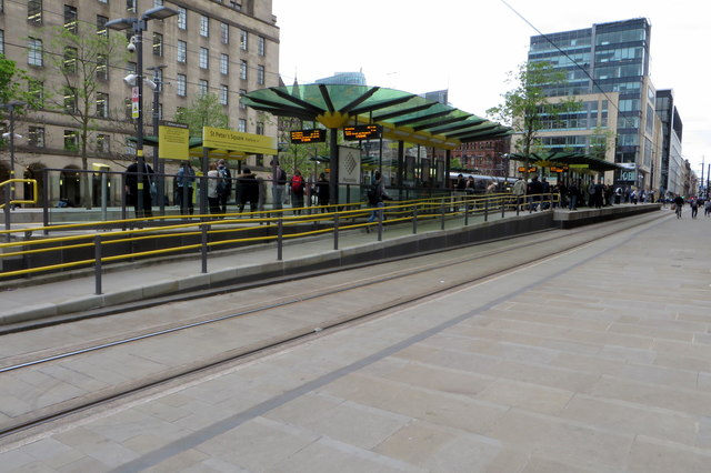 St Peters Square tram station