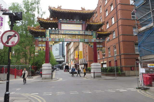 Gateway to Manchester Chinatown