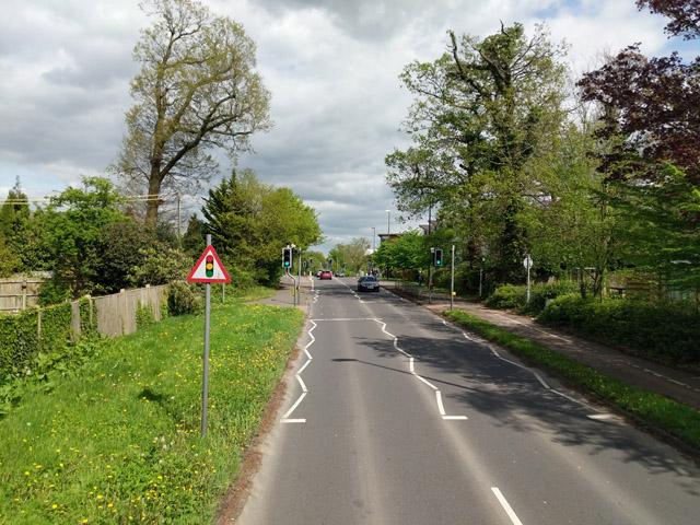Pedestrian lights, Haslett Avenue East, Crawley
