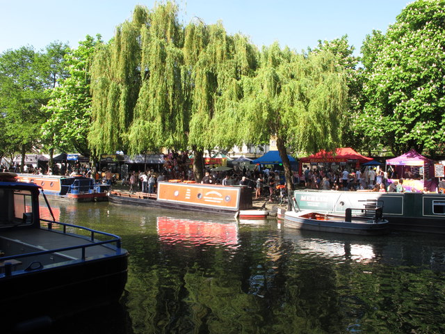 Merlin and Opportunity narrowboats, Little Venice Canalway Cavalcade
