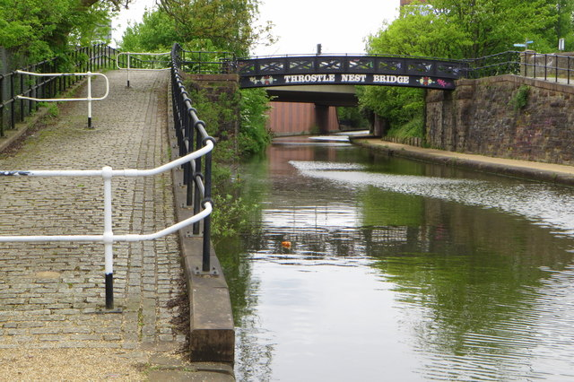 Throstle Nest Bridge on the Bridgewater canal
