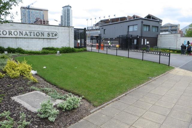Entrance to ITV studios
