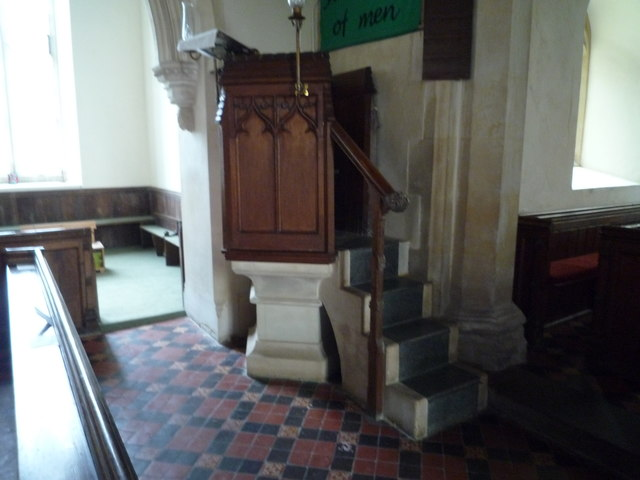 St. Peter's Church (Pulpit | Staunton on Arrow)