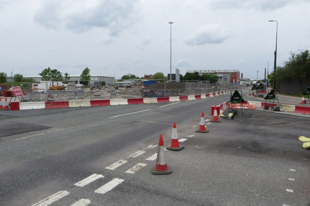 It'll be nice when it's finished: roadworks on the Village roundabout