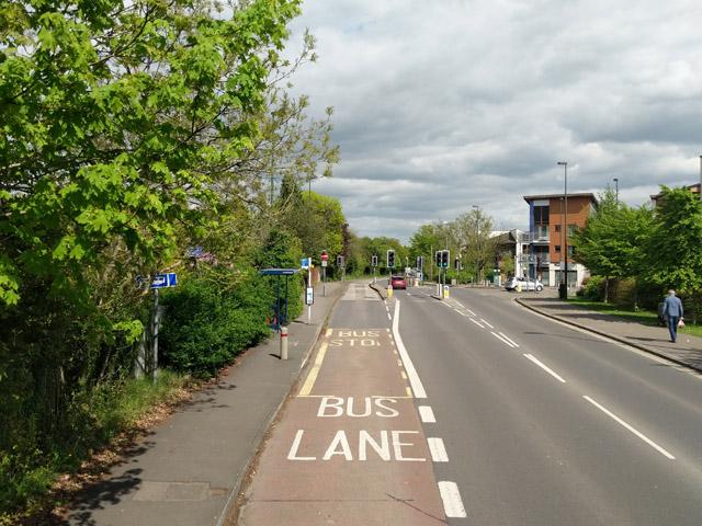 Haslett Avenue East bus stop, Crawley