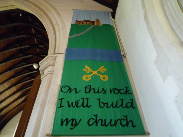 On this rock I will build my church - St. Peter's Church (Staunton on Arrow)