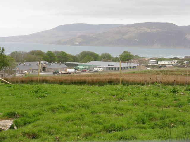 Ardfin Farm on the Isle of Jura