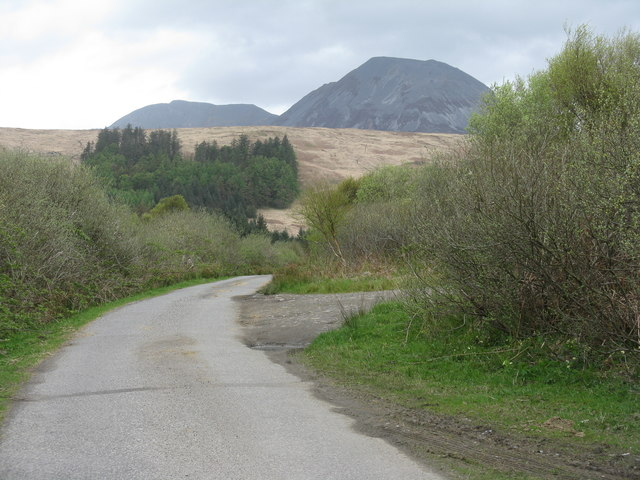 The road from Knockcrome