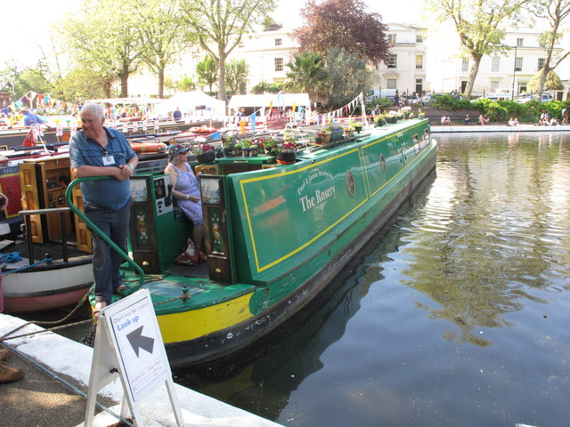 The Rosery, narrowboat, Little Venice Canalway Cavalcade