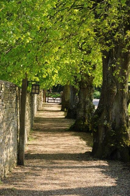 Path to Preston church