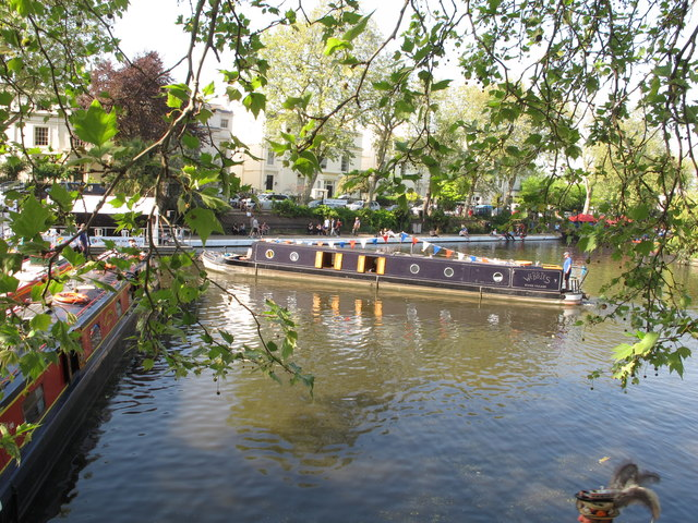 Webbies, narrowboat, Little Venice Canalway Cavalcade