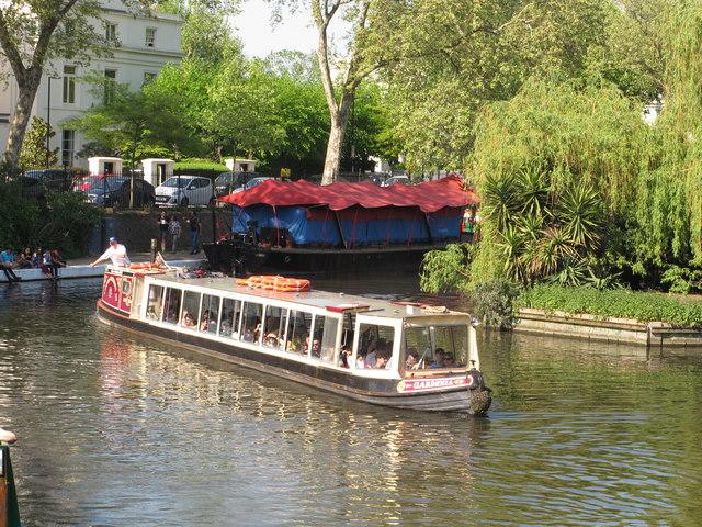 Gardenia, passenger narrowboat, Little Venice Canalway Cavalcade