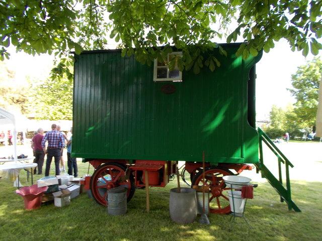 Wooden caravan, Peakirk