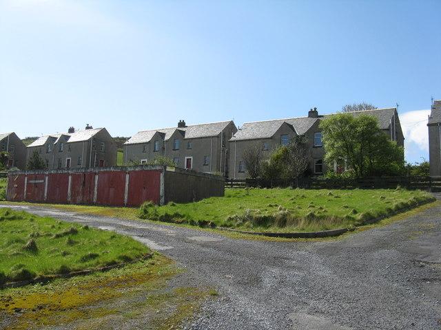 Ghost village at Bunnahabhain