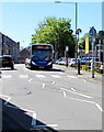 ST3088 : Unusual route for a 151 bus in Newport city centre by Jaggery