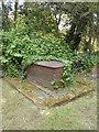 TF1606 : Unusual iron grave at St. Pega's Church, Peakirk by Paul Bryan