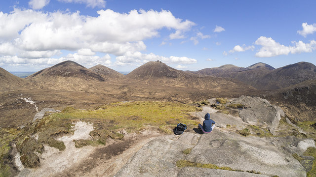 The high Mournes from Doan