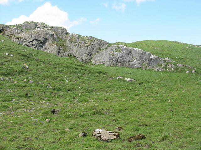 Rocky grassland near Ballimartin