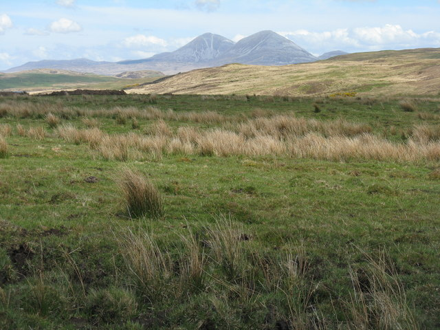 Looking east from Ballimartin