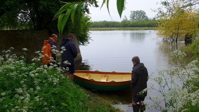 Launching on the River Great Ouse