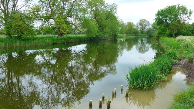 The River Great Ouse at Huntingdon