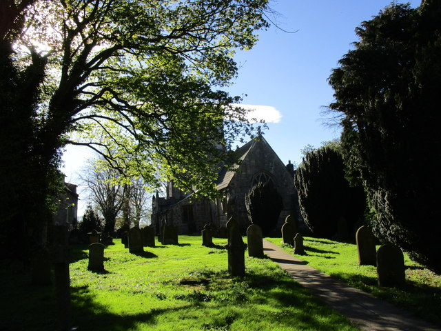 The church of St. Peter and St. Felix, Kirby Hill