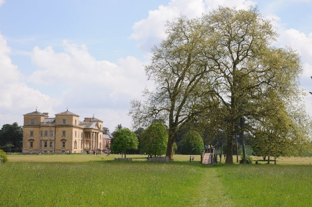 Croome Court and London plane trees
