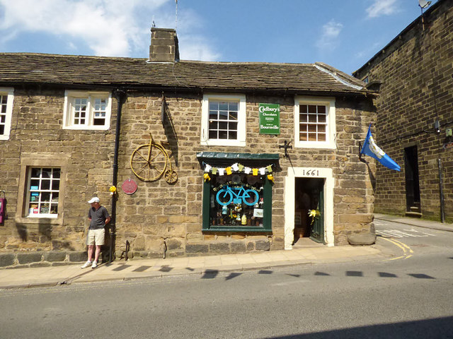 "Pateley Bridge - ""the oldest sweet shop in England"""