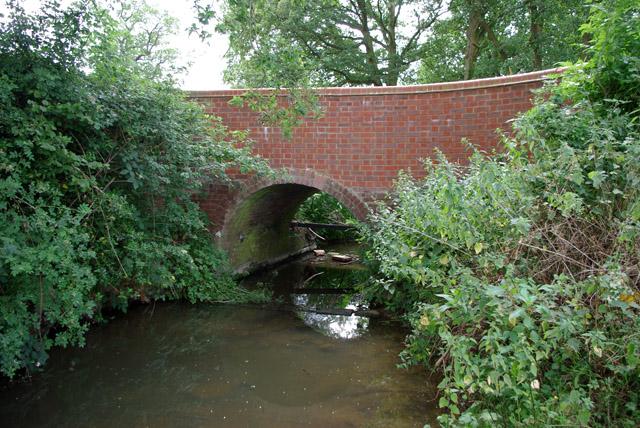 Tilehurst Lane bridges Tanner's Brook