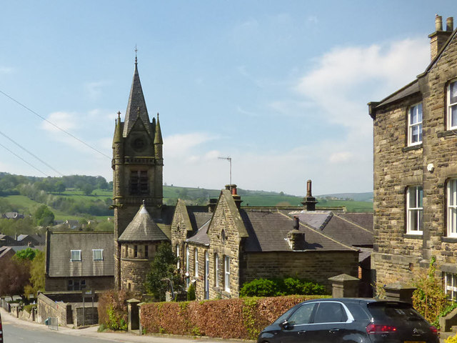 St Cuthbert's church school, Pateley Bridge