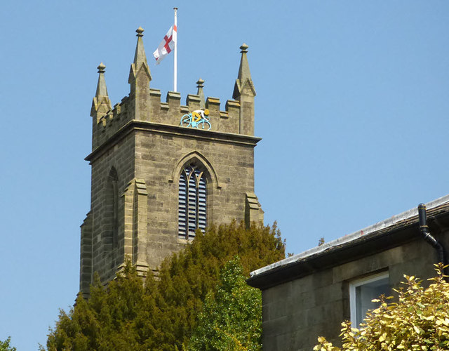 St Cuthbert's, Pateley Bridge - tower