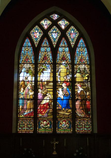 St Cuthbert's, Pateley Bridge - east window