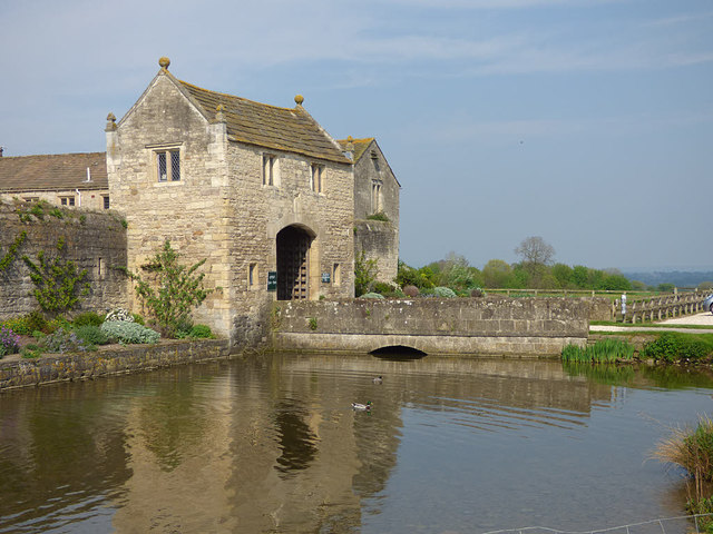 Markenfield Hall - bridge over the moat