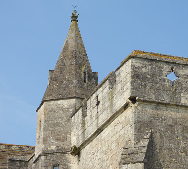 Markenfield Hall - chapel turret