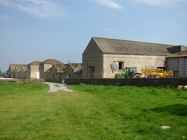 Markenfield Hall - farm buildings