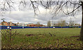 SP2964 : Building the new King's High at Warwick School, Myton, Warwick by Robin Stott