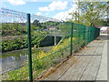 J0825 : Sluice gate linking the Newry River and the Newry Ship Canal at Albert Basin by Eric Jones