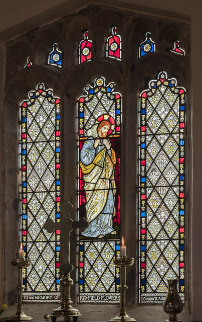 East window, St Thomas's church, Legsby