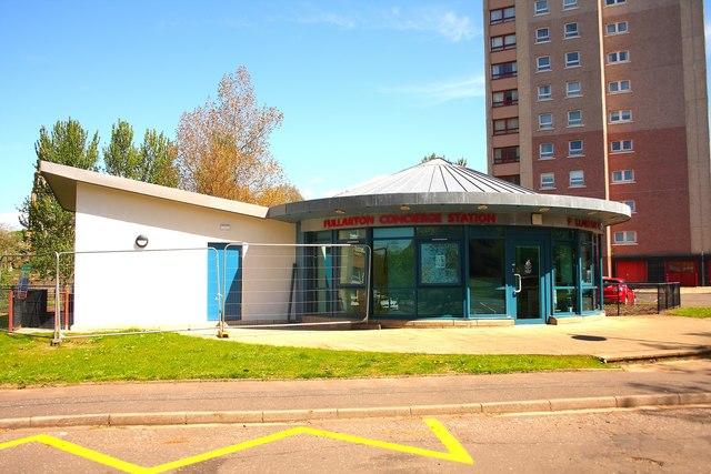 Fullarton concierge station - Irvine