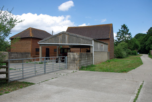 Outbuildings, Scammells Farm