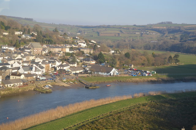 Waterfront at Calstock
