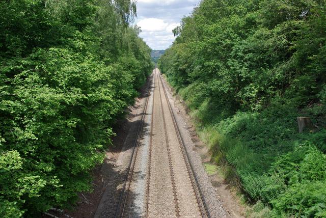 Railway to Horsham via Dorking