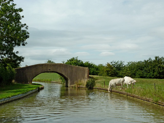 Roy's Bridge north-east of Willoughby in Warwickshire