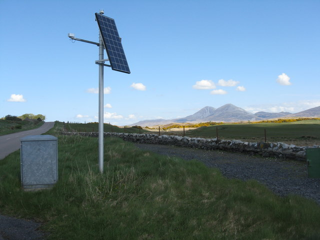 Weather station on Islay