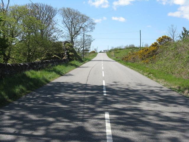 The A846 at Bealach Ruadh