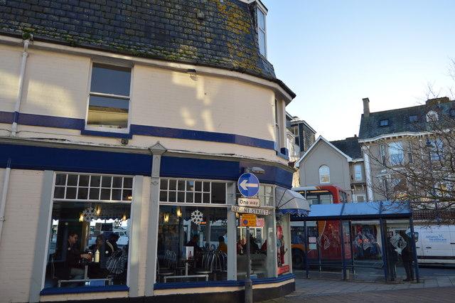 Corner of Regent St