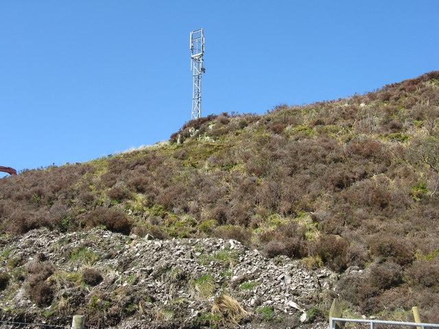 Mast above Torrabus