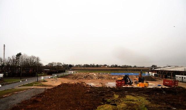 Demolition, Saxham Business Park